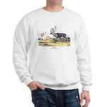 Audubon Caribou Reindeer Animal (Front) Sweatshirt