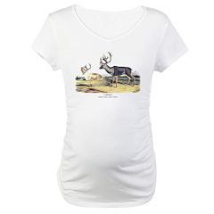 Audubon Caribou Reindeer Animal (Front) Shirt