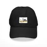 Audubon Caribou Reindeer Animal Black Cap