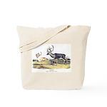 Audubon Caribou Reindeer Animal Tote Bag