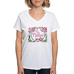 For My Mother Women's V-Neck T-Shirt