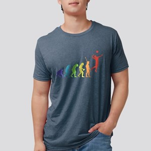 Volleyball Player Mens Tri-blend T-Shirt