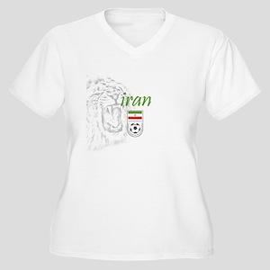 Team Melli Women's Plus Size V-Neck T-Shirt