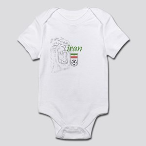 Iranian Team Melli Football Baby Clothes   Accessories - CafePress b11a1b0f0