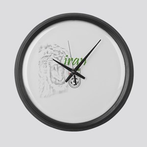 Team Melli Large Wall Clock