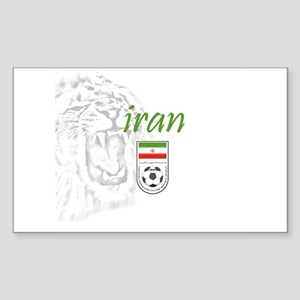 Team Melli Rectangle Sticker