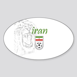 Team Melli Oval Sticker