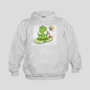 Logan the frog Kids Hoodie