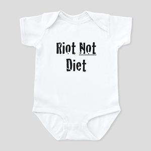 Riot Not Diet Infant Bodysuit
