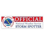 "NWS ""Official"" Storm Spotter Sticker"