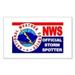 5X3-NWS-OfficialStormSpotter Sticker