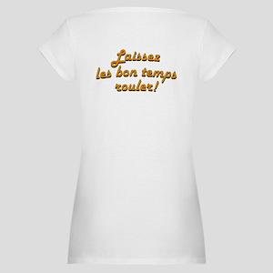 Cajun Flag (2-sided) Maternity T-Shirt