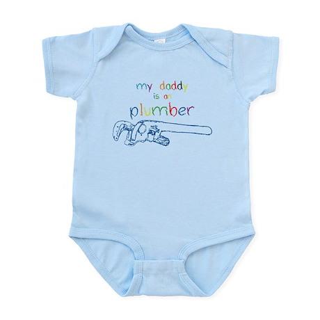 My Daddy-Plumber Infant Bodysuit