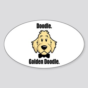 Doodle Bond Sticker (Oval)