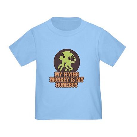 My Flying Monkey Is My Homeboy Toddler T-Sh