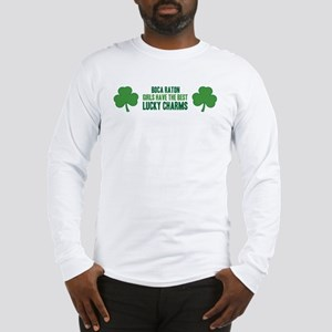 Boca Raton lucky charms Long Sleeve T-Shirt