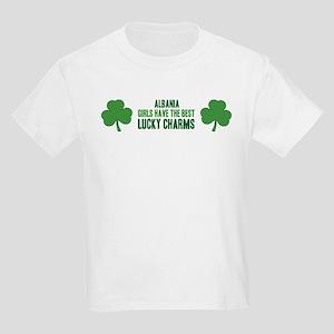 Albania lucky charms Kids Light T-Shirt