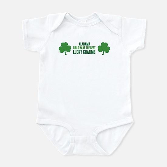 Alabama lucky charms Infant Bodysuit