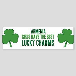 Armenia lucky charms Bumper Sticker