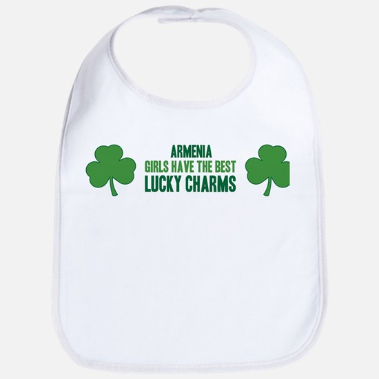 Armenia lucky charms Bib