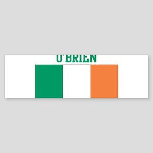 OBrien (ireland flag) Bumper Sticker
