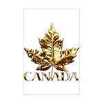 Gold Canada Souvenir Mini Poster Print