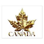 Gold Canada Souvenir Small Poster