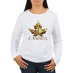 Metal Canada Women's Long Sleeve T-Shirt