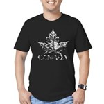 Chrome Canada Men's Fitted T-Shirt (dark)
