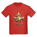 Cool Canada Kids T-Shirt Gold Medal Shirt