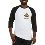 Metal Canada Baseball Jersey Gold Maple Leaf