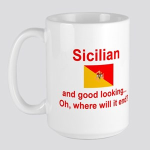 Good Looking Sicilian Large Mug