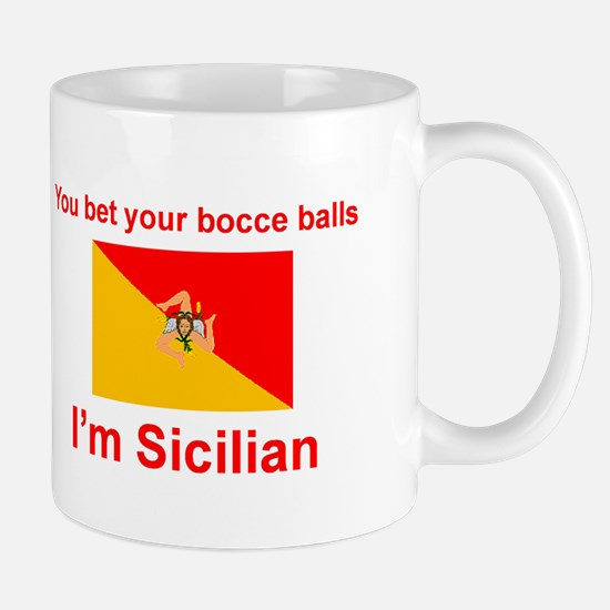 Sicilian Bocce Balls Mug