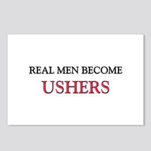 Real Men Become Ushers Postcards (Package of 8)