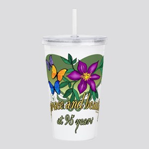 95th Birthday Grace Acrylic Double-wall Tumbler