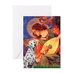 Mandolin / Dalmatian #1 Greeting Card