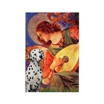 Mandolin / Dalmatian #1 Rectangle Magnet (10 pack)