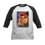 Mandolin / Dalmatian #1 Kids Baseball Jersey