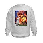 Mandolin / Dalmatian #1 Kids Sweatshirt