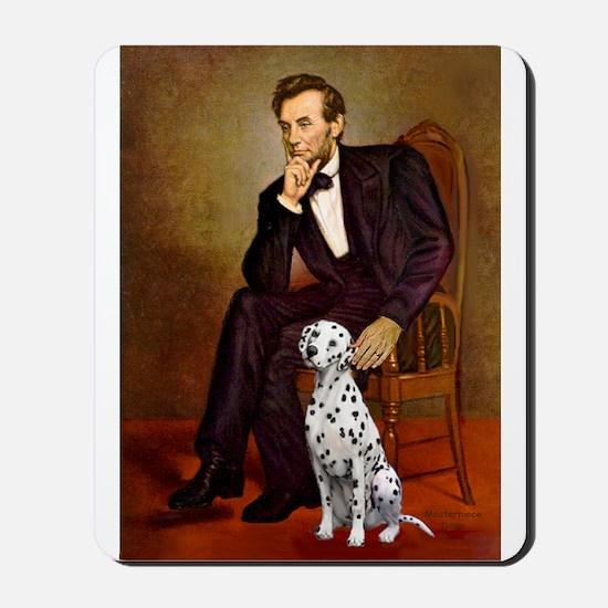 Lincoln / Dalmatian #1 Mousepad