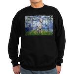 Lilies / Dalmatian #1 Sweatshirt (dark)