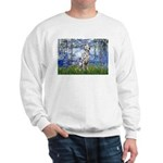 Lilies / Dalmatian #1 Sweatshirt