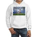 Lilies / Dalmatian #1 Hooded Sweatshirt