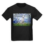 Lilies / Dalmatian #1 Kids Dark T-Shirt