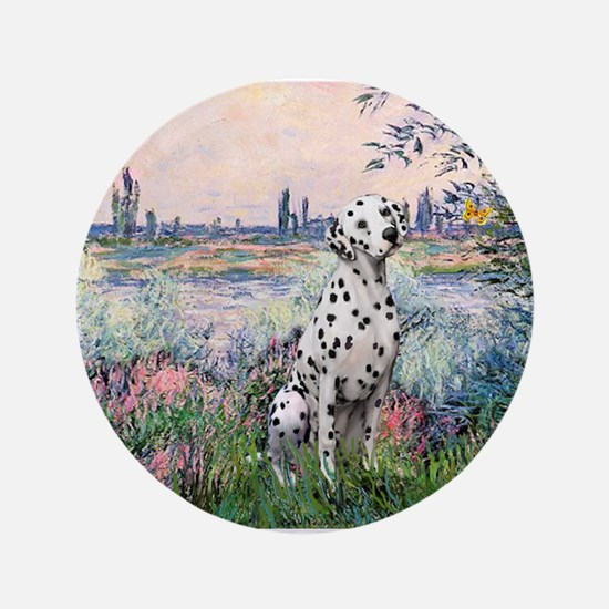 """Seine / Dalmatian #1 3.5"""" Button"""