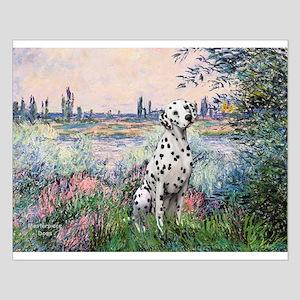 Seine / Dalmatian #1 Small Poster