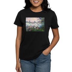 Seine / Dalmatian #1 Women's Dark T-Shirt