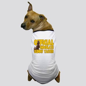 Official Chocolate Bunny Taster Dog T-Shirt