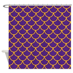 Purple Mermaid Shower Curtains Cafepress
