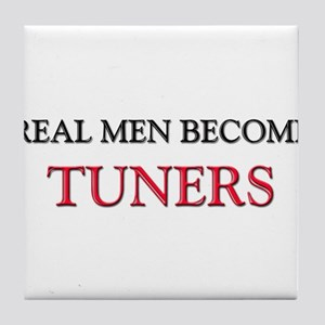 Real Men Become Tuners Tile Coaster